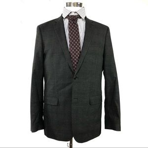 John varvatos Mens Gray blazer size 42L mint